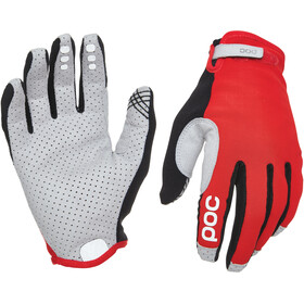 POC Resistance Enduro Bike Gloves Adjustable grey/red